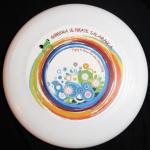 Disco Quimera Flores Frisbee