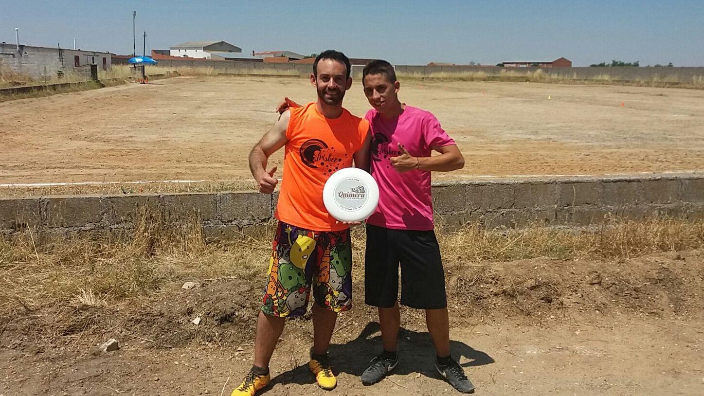 Chechu y Juanfu en el Tierra de Pinares